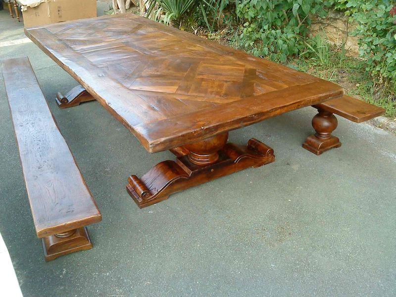 grande table de monastère réf:tm19 - table de paris